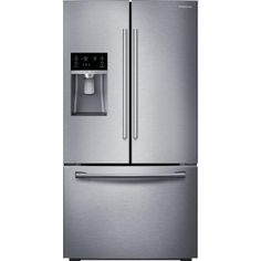 Samsung 22.5 cu. ft. French Door Refrigerator in Stainless Steel (Silver), Counter Depth