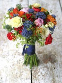 Bouquet de mariée garden party