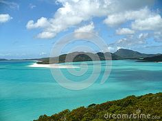 A view of the Lagoon from Whitehaven Beach in the Whitsunday Islands National Park