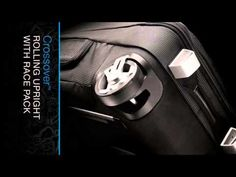 Luggage - Thule Crossover 60 Liter Rolling Upright with Race Pack - YouTube