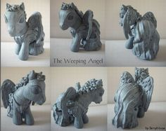 My little Pony Custom Doctor Who Weeping by ~BerryMouse on deviantART