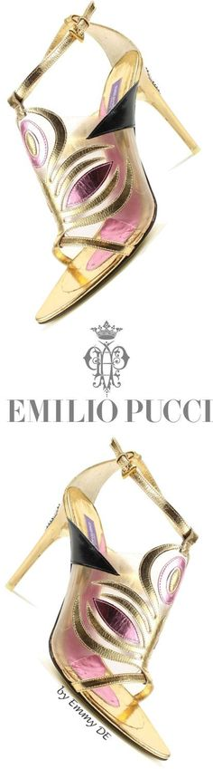 Emilio Pucci, 2005. Collection of the Rossimoda Shoe Museum | House of Beccaria~