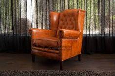 Afbeeldingsresultaat voor leren fauteuil cognac home