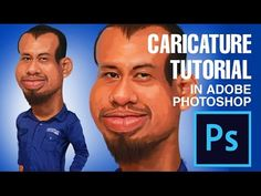 Photoshop Tutorial: How to Make Caricature  From a Photo #02