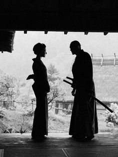 Not a fan of this film (The Last Samurai), but this image is bad. ass.