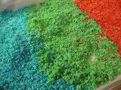 My Little Alberta Family: Rainbow Rice