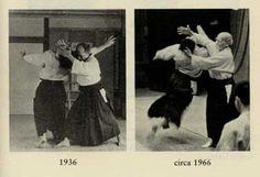 The development of Aikido