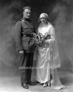 1923 Irish National Army Soldier and Bride