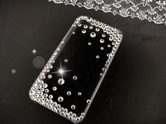 Bling Sparkles Rhinestone Crystal iphone 5 5s 5c 4 by mraicharms