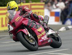 TT legend Joey Dunlop in 2000.