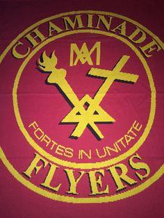 Vintage CHAMINADE Flyers NY Blanket 70s 80s Marianist Roman Catholic High School #Vintage