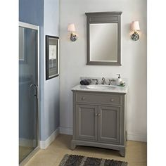 Pic Of Buy Fairmont Designs Smithfield Vanity Medium Gray at ModernBathroom Get