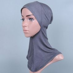 Simple Various Color Hijab Islamic Neck Cover Head Wear Cap Scarf For Women #shoes, #jewelry, #women, #men, #hats, #watches