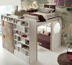 ¡Ahorra espacio! Porque una bonita decoración no esta reñida con un espacio reducido.
