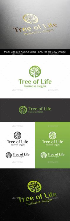 Tree of Life — Vector EPS #beauty #natural • Available here → https://graphicriver.net/item/tree-of-life/18978937?ref=pxcr