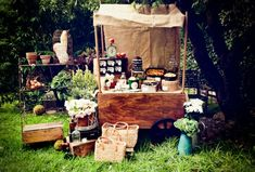 Pop-Up Market Stall, a Rustic Home-Spun Styled Shoot