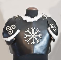 Viking Style Torso with Pauldrons / by BlackVelvetEmporium on Etsy