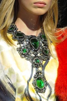Lanvin F12 necklace