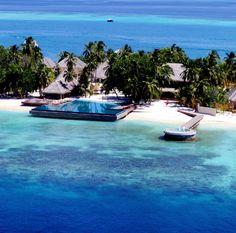 Huvafen Fushi Resort @Maldives
