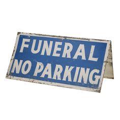 Venice Beach stationnement Reproduction Metal Sign Pancarte en m/étal Vintage