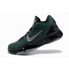 68c32c199150 New Fashion Nike Zoom Kobe VII 7 Elite Men Green Black Grey Shoes 1009