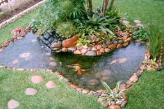 42 Awesome Fish Ponds Design Ideas For Your Backyard Landscape. There are many sorts of ponds it's possible to build in your backyard. A little pond limits the amount of fish and plants you̵. Backyard, Ponds Backyard, Landscaping With Rocks, Backyard Garden, Fish Ponds Backyard, Pond Design, Garden Design, Backyard Landscaping, Fountains Outdoor