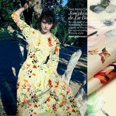 Letnie kwiaty koszula druku jedwabiu lnianą tkaninę sukni cheongsam w wielofunkcyjny: można używać na ubrania, sukienka, spódnica, pościel, strój wieczorowy, moda przedmiotyekologiczny mater od Tkaniny na Aliexpress.com | Grupa Alibaba