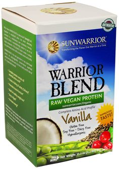 Amazon.com : Sunwarrior Warrior Blend Protein, Natural 2.2 lbs : Sports Nutrition Products : Grocery & Gourmet Food