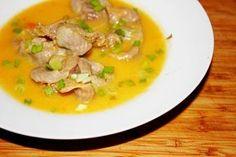 Złota zupa z żołądków drobiowych
