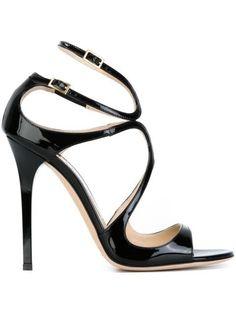 Anastasia Steele wears the Jimmy Choo Lance sandal in 50 Shades Darker- best bit of the movie!!!! #jimmychoobags