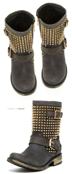 Monicaa Studded Boots