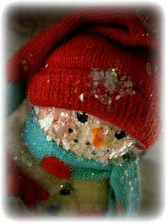 Snowman by Nancy Malay