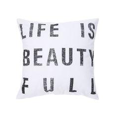 Beautiful Life Pillow | dotandbo.com
