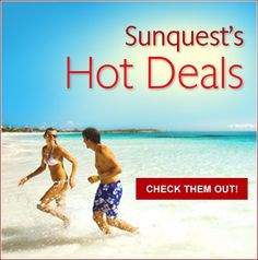 All Inclusive Vacations | Last Minute Travel Deals | Mediterranean Cruises | Sunquest Vacations