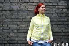 DIY Your Closet - Eine Sweatshirtjacke, viel Regen und Miss Wet-Tshirt - Tintenelfe Blog