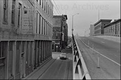 15th Street Viaduct and Wazee Street area.  Denver, Colorado     1987  by Kim Allen