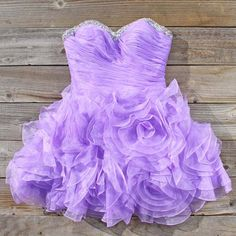 Spool Couture Wild Lavender Dress, Sweet Party Dresses from Spool 72. | Spool No.72