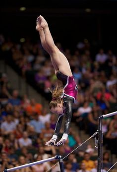 Rebecca Bross - 2010 National Champion, trains at the same gym that produced Olympic AA champions, Carly Patterson and Nastia Liukin. Do you think she can follow in their footsteps in 2012?