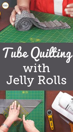 Jellyroll Quilts, Patchwork Quilting, Quilting Tips, Quilting Tutorials, Machine Quilting, Quilting Projects, Quilting Designs, Triangle Quilt Tutorials, Sewing Tutorials