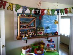 Angry Birds Birthday Party Ideas | Photo 8 of 27 | Catch My Party