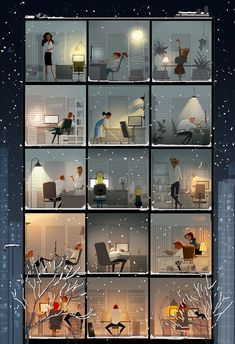 Late night at the office. #pascalcampion