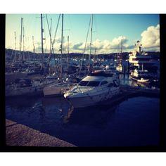 Beautiful Falmouth harbour