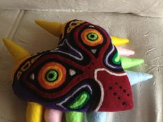 Majora's Mask pillow Legend of Zelda by PatchworkSpookies on Etsy
