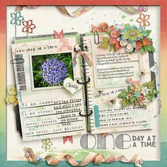 kimeric kreations: One Step at a Time - new this week, and a beautiful cluster to share from Jenni!