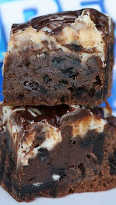 Oreo Swirl Brownies