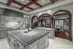 10245 Strait Lane - eclectic - kitchen - dallas - Sharif & Munir Custom Homes, Inc.