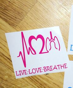 Respiratory therapist DIY decal