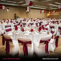 chair covers and sashes old wood chairs 2082 best images decorated our white spandex burgundy crinkled taffeta