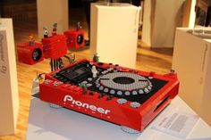 Lego Pioneer CDJ
