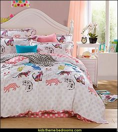 Cool Girls Bedroom Ideas Decorations Sweet Cat Theme Teen Girls